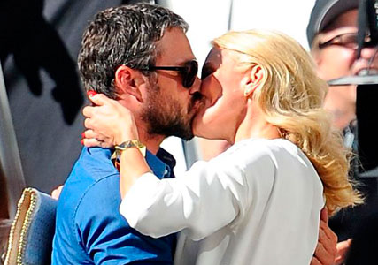 Cameron Diaz Enjoys Steamy Kiss With Lady Gaga's Boyfriend