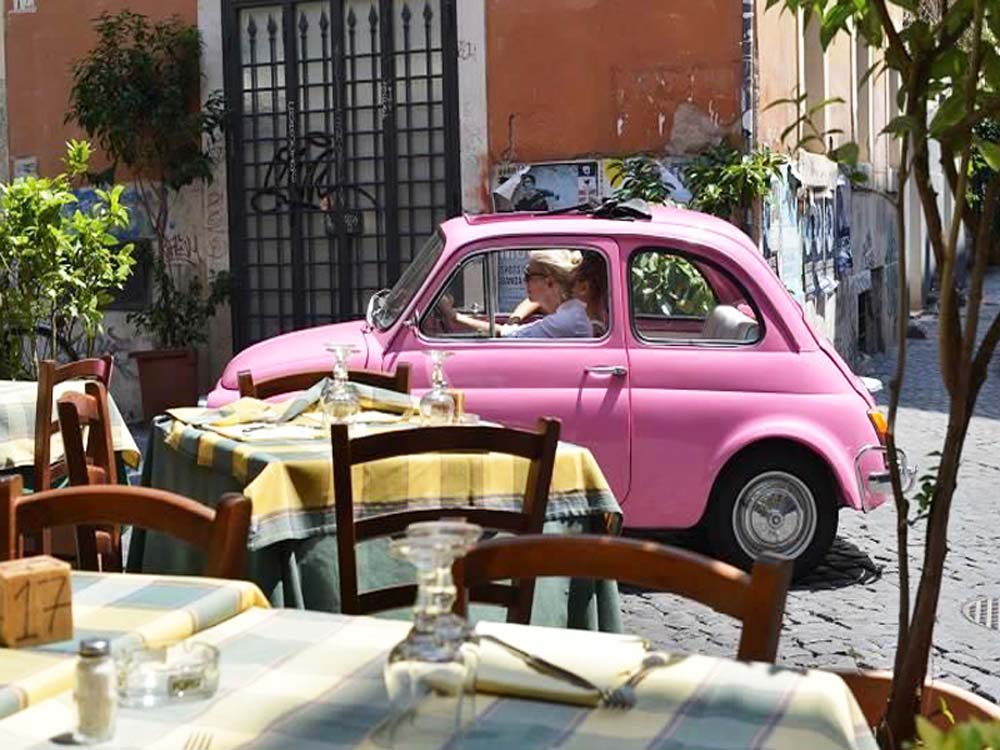 Easy Escapes: Rome by classic car
