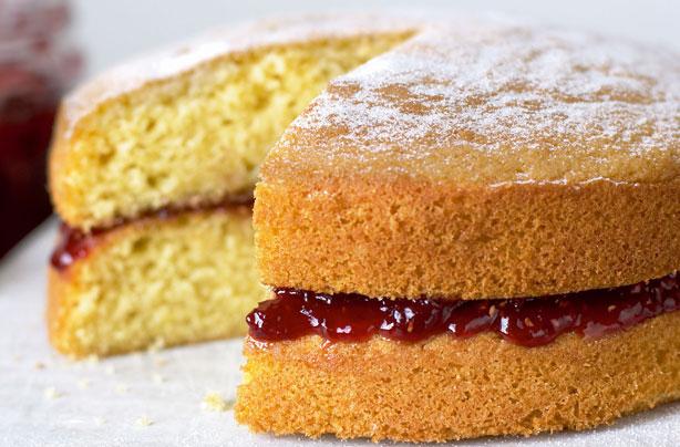 Mary Berry Lemon Victoria Sponge Cake Recipe
