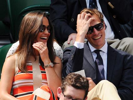 Pippa Middleton And Boyfriend Nico Jackson S Sneaky Smooch