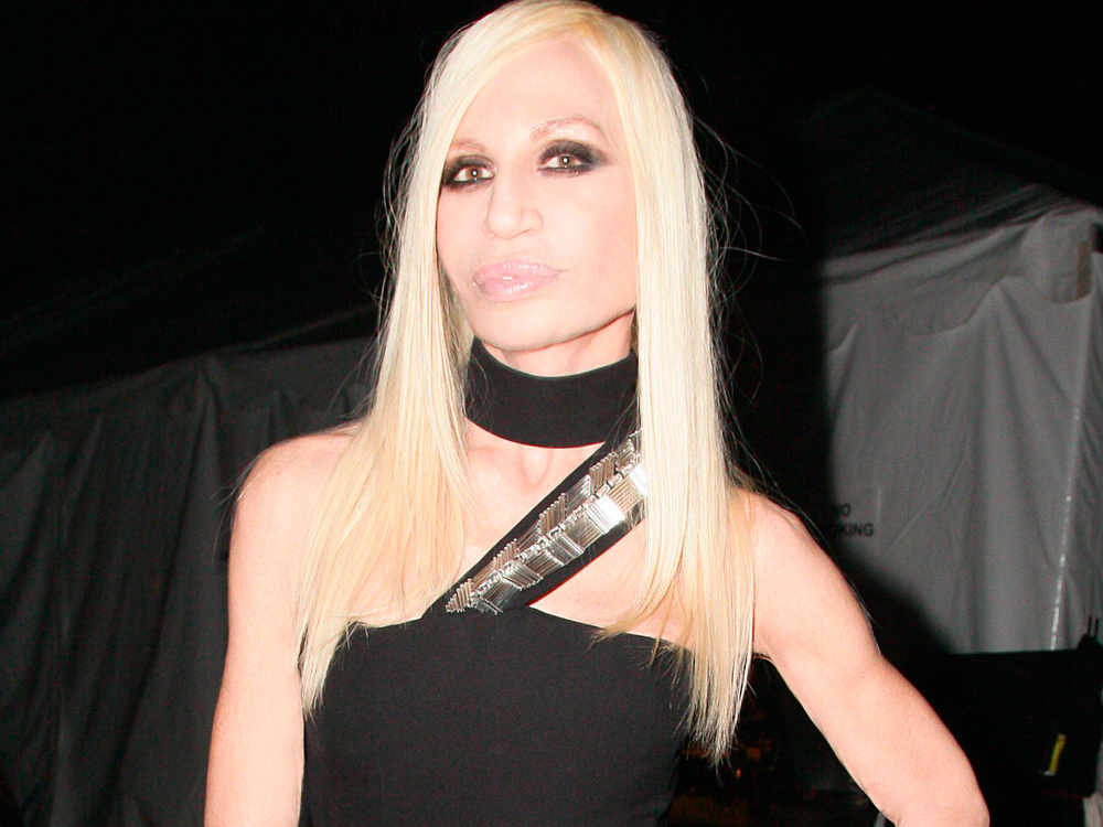 Versace Names Lady Gaga As Its Official SS14 Muse | Marie ...