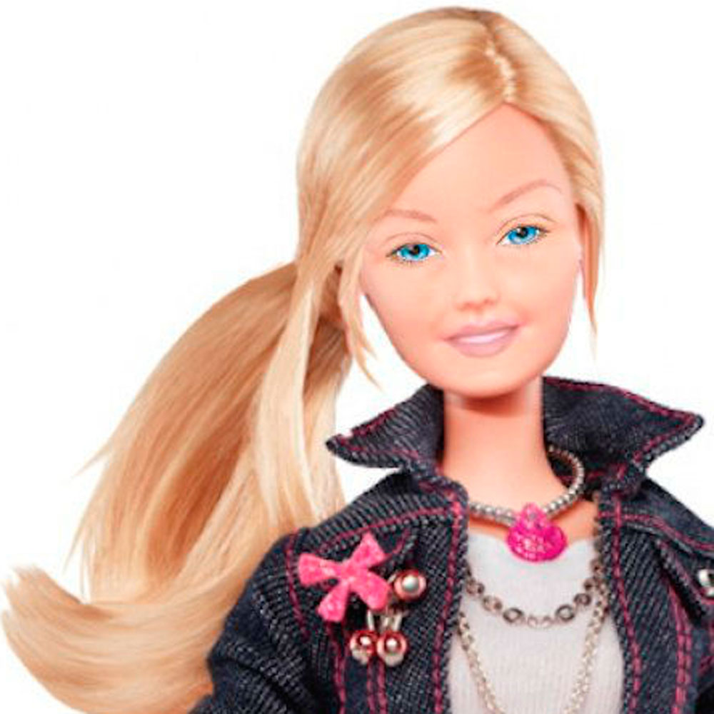 how to look like barbie without makeup