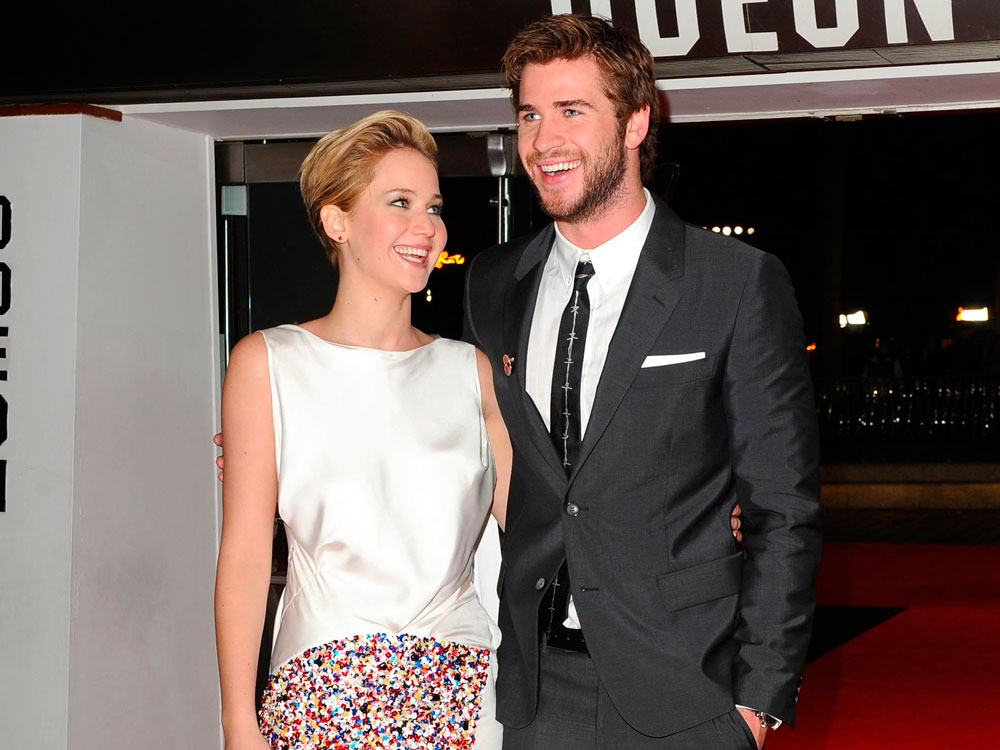 Liam Hemsworth And Jennifer Lawrence Jennifer Lawren...
