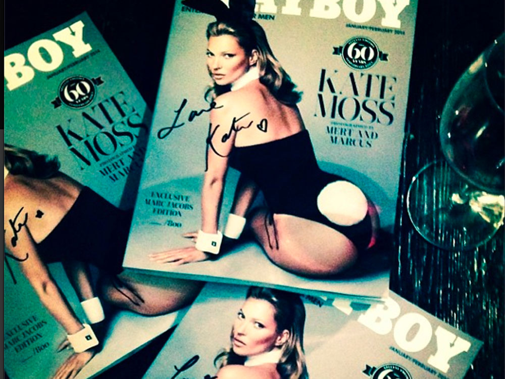 Kate Moss For Playboy: The Cover Is Here And It's ...