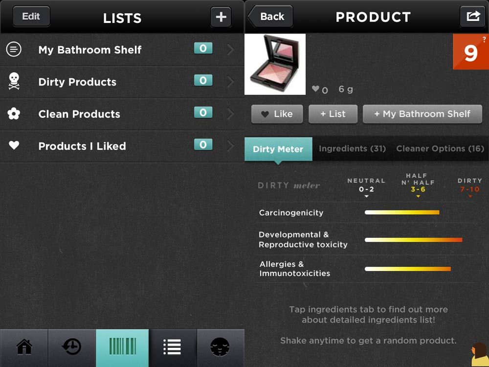 Giải mã độ độc hại mỹ phẩm nhờ ứng dụng di động ảnh 2