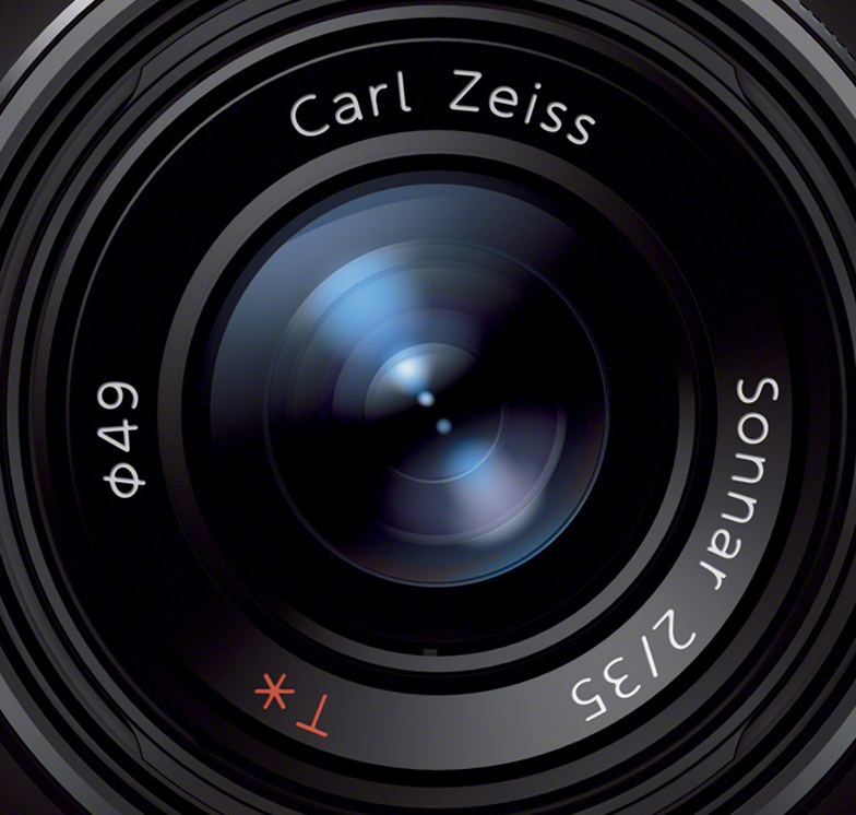 Sony RX1 lens close-up