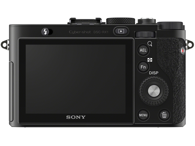 Sony RX1 rear