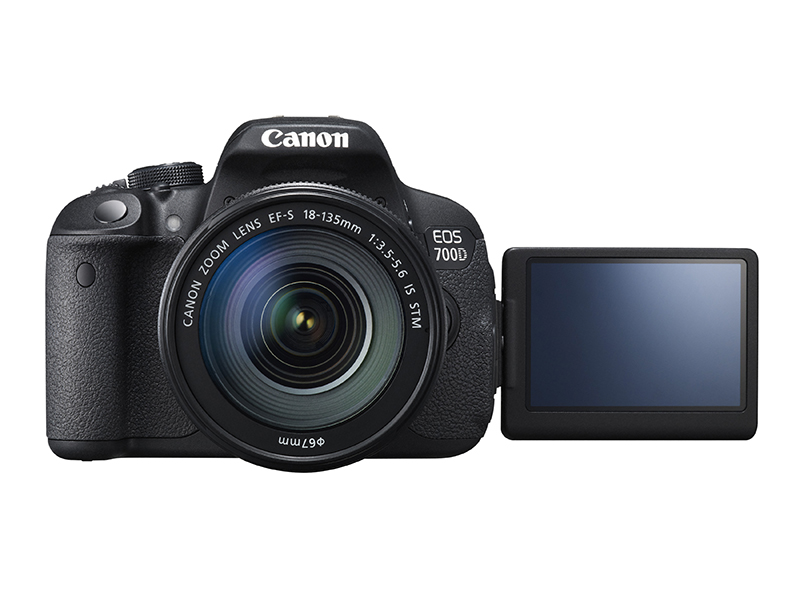 Canon EOS 700D tilt screen