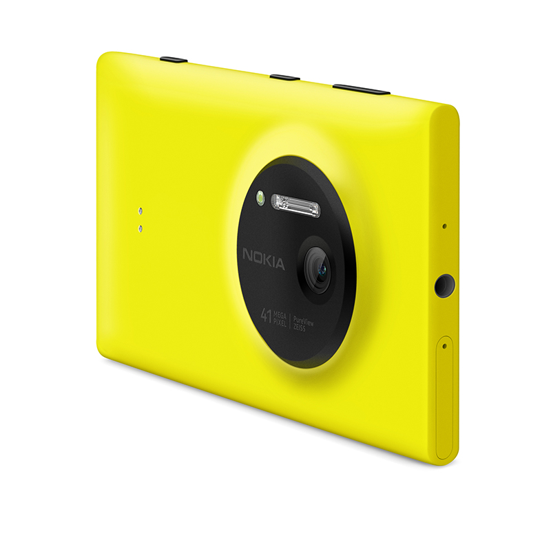 Nokia Lumia 1020 rear angled