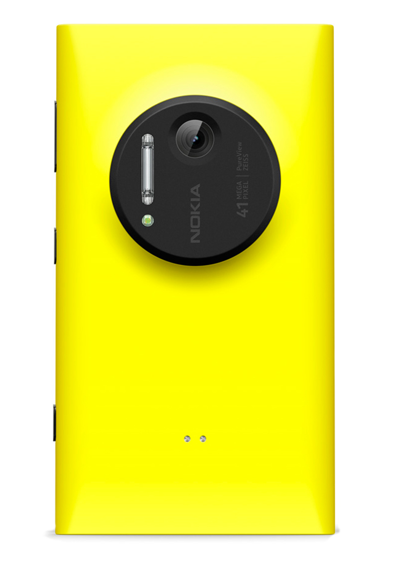Nokia Lumia 1020 rear view