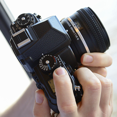 Nikon Df hands on angled
