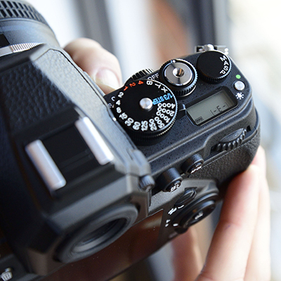 Nikon Df hands on dial