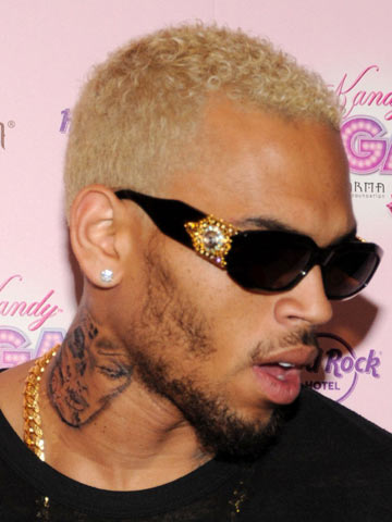 Chris Brown S New Hair Color