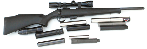 .17HMR calibre sound moderators review