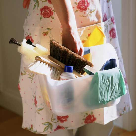 Be well-prepared and spring cleaning will be less of a chore