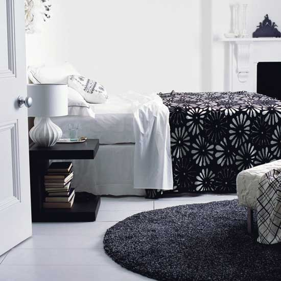 Colour and fabric can create the perfect bedroom atmosphere
