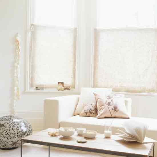 Half bay window blinds bognor best best 25 window blinds for Curtains and blinds together