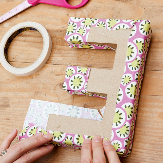 How to make letters covered in fabric pollutiongoogle for How to cover cardboard letters with fabric