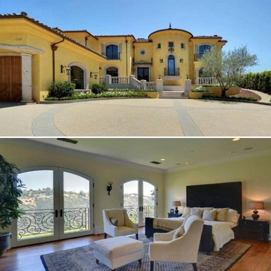 The property is located on an exclusive gated community in LA. The couples neighbours are reported to be actress, Jennifer Aniston and basketball star, Chris Paul \ Trulia