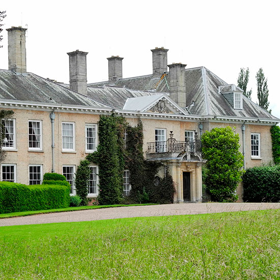 Bedazzling: Donnington Hall, the country-estate love nest that Liz and Shane recently bought for £6m \ Joan Wakeham/Rex Features