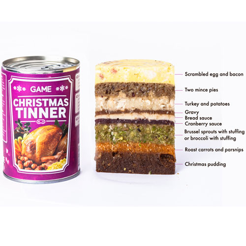 Game introduces christmas tinner for gamers who can t stop playing