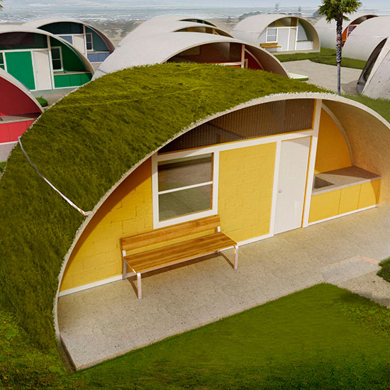 Construction Concrete Dome Home: Eco-friendly Binishell Homes To Make A Comeback